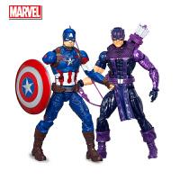 孩之宝 漫威美国队长钢铁侠6英寸永恒系列玩具公仔 儿童礼物