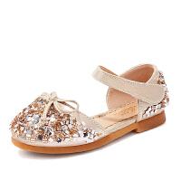 童鞋女童凉鞋夏季小公主鞋女孩儿童鞋子包头鞋