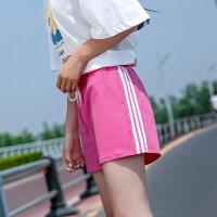 短裤女夏2018新款裤子学生宽松韩版ulzzang百搭宽松运动薄休闲裤
