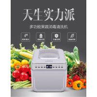 洗菜机 果蔬水果清洗机家用蔬菜消毒解毒全自动净化臭氧机