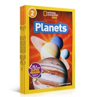 顺丰发货 National Geographic KIDS Readers Level 2 儿童科普分级阅读 第2级6本套装 美国国家地理杂志 英文原版百科图画书
