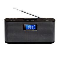 【当当自营】 熊猫/PANDA DS-210 桌面台式插卡音响笔记本电脑音箱U盘MP3播放器 黑色