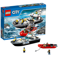 [当当自营]LEGO 乐高 城市系列 警用巡逻艇 积木拼插儿童益智玩具 60129