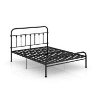 双人床1.5/1.8单人床1.2米美式床架简约复古欧式铁床公主床 1800mm*1900mm 1.2米1.5米