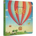 英文原版 Alison Jay's ABC 碎蛋壳画家 让想象飞 字母的童话 儿童启蒙纸板书