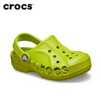 Crocs洞洞鞋童鞋男童女童凉鞋卡骆驰儿童拖鞋宝宝沙滩鞋夏|205483 贝雅小克骆格