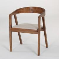 美式复古铁艺实木餐椅休闲餐厅咖啡厅靠背餐桌椅子组合办公椅