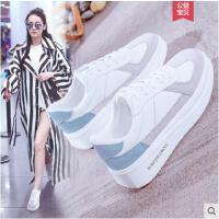 小白鞋女休闲百搭韩版白色板鞋学生厚底增高运动鞋休闲鞋