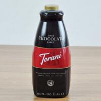 美国进口Torani/特朗尼黑巧克力淋酱 特罗尼糖浆 咖啡辅料 1.89L