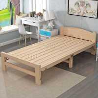 【满减优惠】折叠床实木床单人床午休床1.2米双人床简易床家用床1.5米床包邮