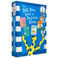 正版 苏斯博士6合1故事书 英文原版绘本The Big Blue Book of Beginner Books 大蓝书