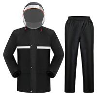 雨衣雨裤套装男女加厚摩托车电瓶车分体式骑行防暴雨雨衣外套男
