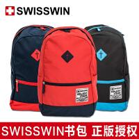 SWISSWIN瑞士小学生书包防雨双肩包男女学生书包儿童防水多功能书包2016新款