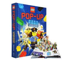 LEGO Pop-Up 乐高立体书 大师Matthew Reinhart新作 立体+多样互动翻拉设计 英文原版少儿玩具书 趣味认知书