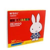 晨光FGM90059米菲36色六角油画棒 丝滑油画棒 蜡笔 送削笔器