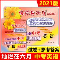 2020版 灿烂在六月 上海市中考模拟强化测试精编 中考英语 中考模拟测试卷 试题汇编 不含答案 中西书局