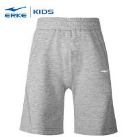 【限时特价 2件8折】鸿星尔克童装新款儿童针织短裤学生休闲运动短裤吸汗5分裤