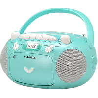 熊猫/PANDA CD-209 CD/磁带 录音/MP3光盘 插卡 全能复读 收音播放机 蓝色