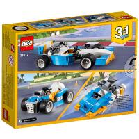 【当当自营】乐高(LEGO)积木 创意百变组Creator 玩具礼物6-12岁 雷霆赛车 31072