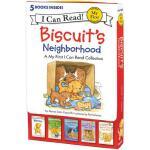 【预订】Biscuit's Neighborhood 5 Fun-Filled Stories in 1 Box!