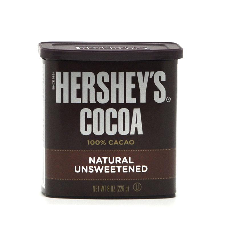 美国原装进口HERSHEY'S/好时可可粉 纯巧克力粉 226g 美国原装