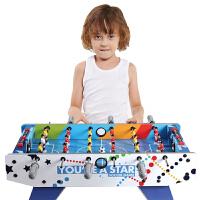 足球桌面桌游桌式足球机男孩玩具 儿童彩纹6杆桌上足球台