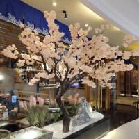 仿真樱花树假树大型植物仿真桃花树梅花树许愿树大堂酒店商场装饰