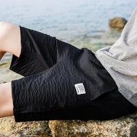 男士夏季运动休闲短裤男夏天宽松五分裤修身中裤韩版潮流沙滩裤子