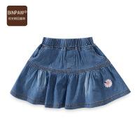 【限时119元4件】童装女童牛仔超短裙 2021夏装新款中大儿童短裙洋气小女孩裙子