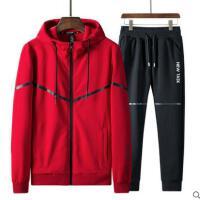 卫衣男连帽开衫户外新品网红同款韩版潮流男士休闲运动服套装长袖外套