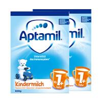 【1+普通】保税区发货(19年12月) Aptamil爱他美 德爱婴幼儿奶粉 1+段(1-2岁) 600g*2罐 海外