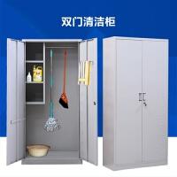 不锈钢清洁柜扫把柜拖把柜储物柜家用保洁工具柜清洁用品收纳柜
