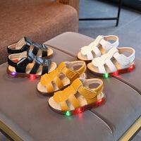 男童凉鞋小童软1-3岁女宝宝夏季儿童