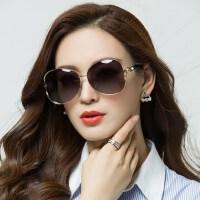 新款偏光太阳镜司机驾驶遮阳墨镜 网红同款长脸眼镜大框方脸眼镜女