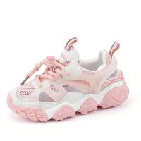 女童运动鞋夏季童鞋儿童网面镂空老爹鞋男童网鞋