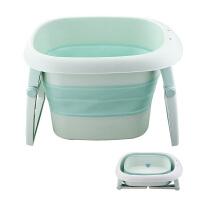 折叠儿童浴桶大号洗澡桶婴儿可坐躺浴盆新生儿通用宝宝泡澡