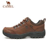CAMEL骆驼户外登山鞋男 头层牛皮徒步鞋防滑耐磨运动户外爬山鞋