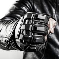 战术手套半指男学生军迷打架格斗防身运动健身训练摩托车骑行手套 体重≤120斤请选码