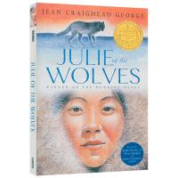 狼群中的朱莉 英文原版 Julie of the Wolves 纽伯瑞金奖 狼女朱莉 英文版儿童文学小说 现货正版进口