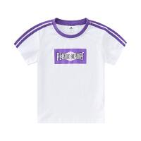 【3件3折到手价:40】小猪班纳童装儿童短袖男童T恤休闲上衣女童夏装2020新款纯棉体恤