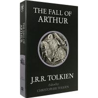 现货正版 The Fall of Arthur 英文原版 亚瑟王的陨落 英文版历史主题诗歌 亚瑟王之死作者 托尔金 T