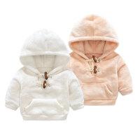 宝宝婴儿童装卫衣秋装秋季上衣服0岁6月童新生儿外套冬新年