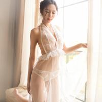 情趣内衣大码性感蕾丝透明开档透视装女用品激情套装夜店制服
