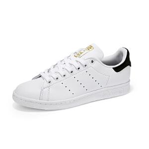 【新品】adidas阿迪达斯三叶草男女鞋运动板鞋STAN SMITH黑尾金标BY9985