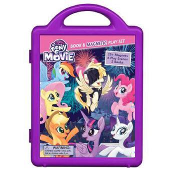 【预订】My Little Pony the Movie: Book & Magnetic Playset 预订商品,需要1-3个月发货,非质量问题不接受退换货。