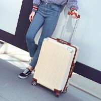 箱子行李箱旅行箱皮箱拉杆箱男女万向轮韩版小清新密码箱登机箱包