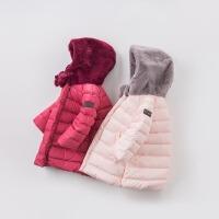 davebella戴维贝拉女童冬季羽绒服 宝宝保暖90绒轻羽绒服DB6091