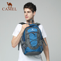 【满259减200元】骆驼户外双肩包男女 30L徒步旅行运动登山包大容量轻便防泼水背包