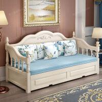 沙发床欧式实木可叠客厅小户型双人1.8米推拉坐卧两用多功能1.5 1.8米-2米