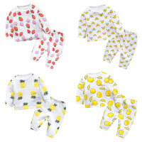 婴儿童装0岁3个月1宝宝冬装2潮款童卫衣服T恤套装春冬季